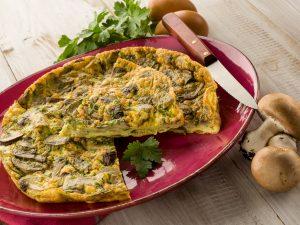 Champignon-Omelett