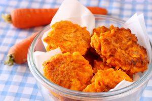 Reibekuchen mit Karotten