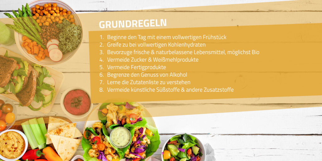 Clean-Eating-Grundregeln