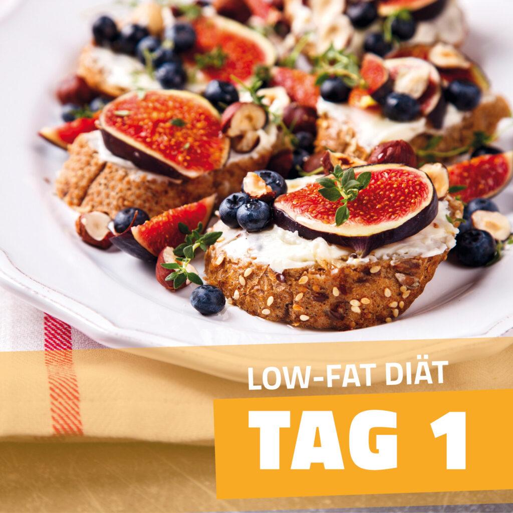 Low-Fat-Plan-zum-Abnehmen-Tag-1