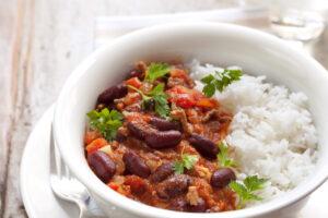 Chili Con Carne mit Reis