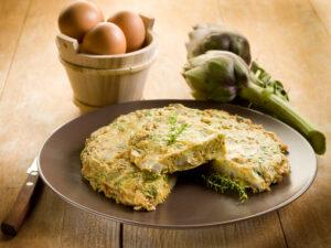 Artischocken-Omelett