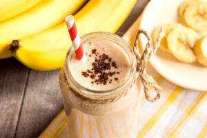 Bananen-Mandel-Milchcreme