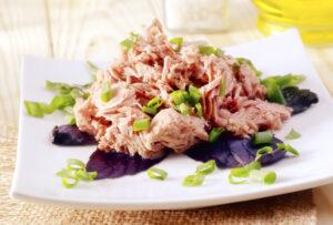 Thunfischsalat mit Lauchzwiebeln